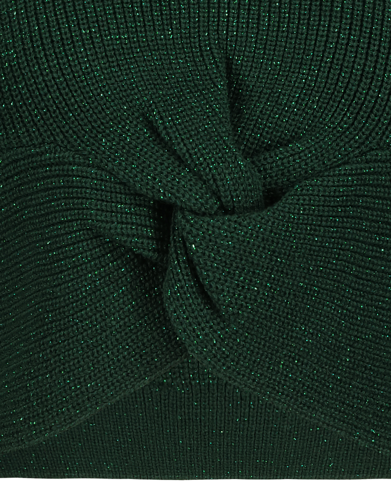 Green Twisted Jumper