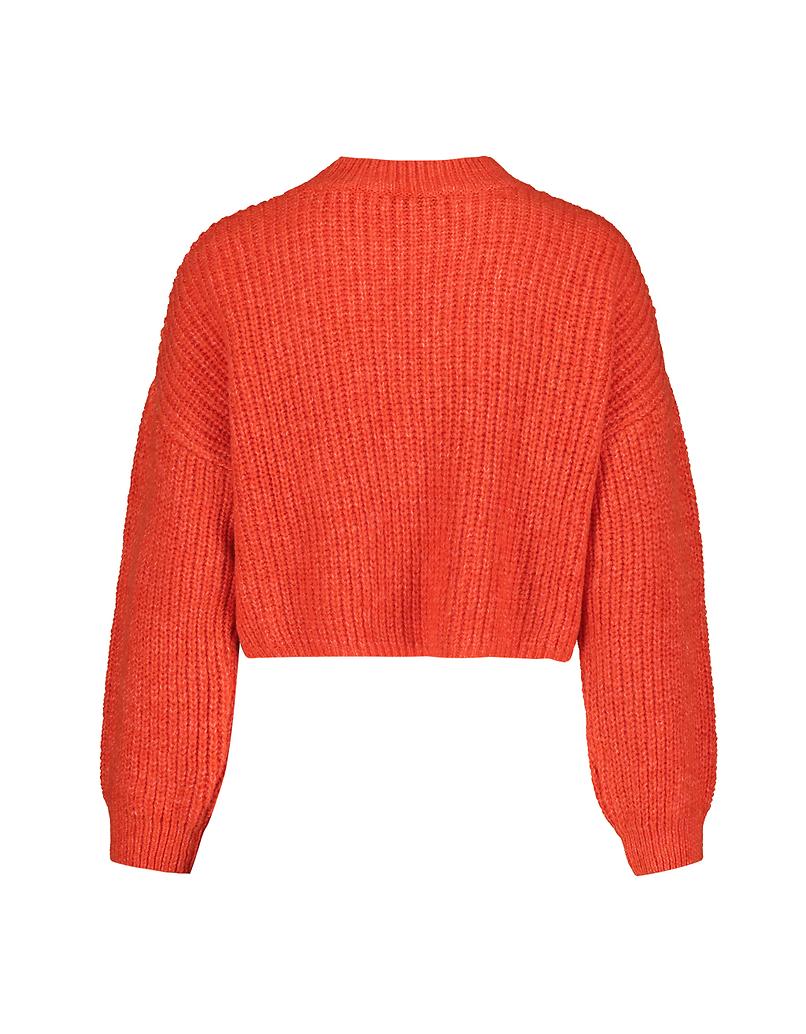 Maglione Corto Arancione