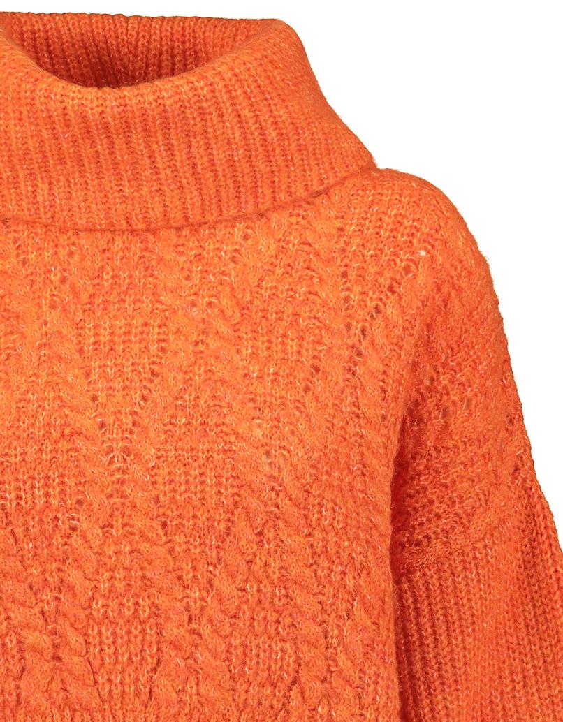 Orange Cropped Jumper