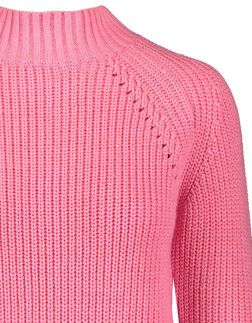Pink Ribbed Jumper