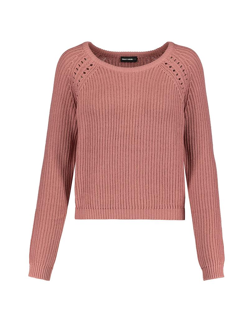 Pullover Rosa in Maglia