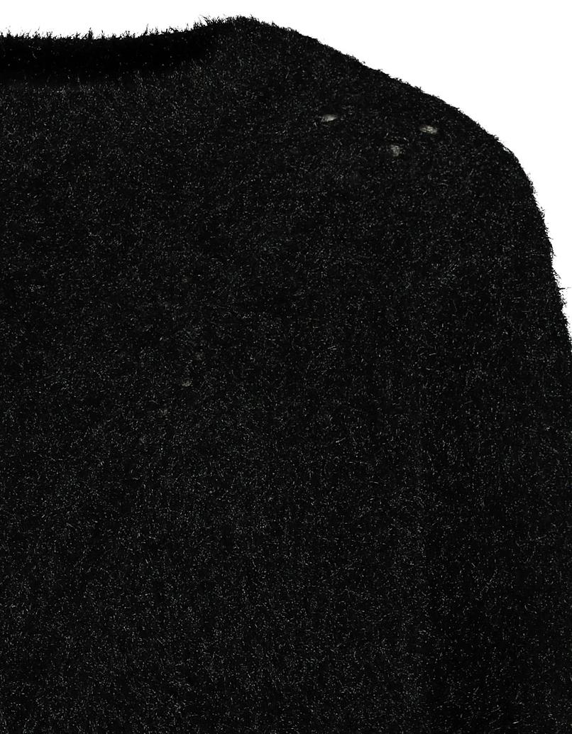 Black Pointelle Jumper