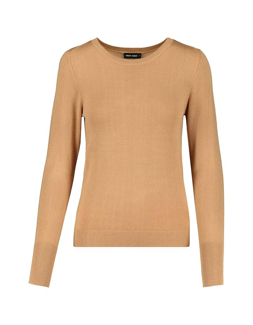 Pullover Beige Aderente