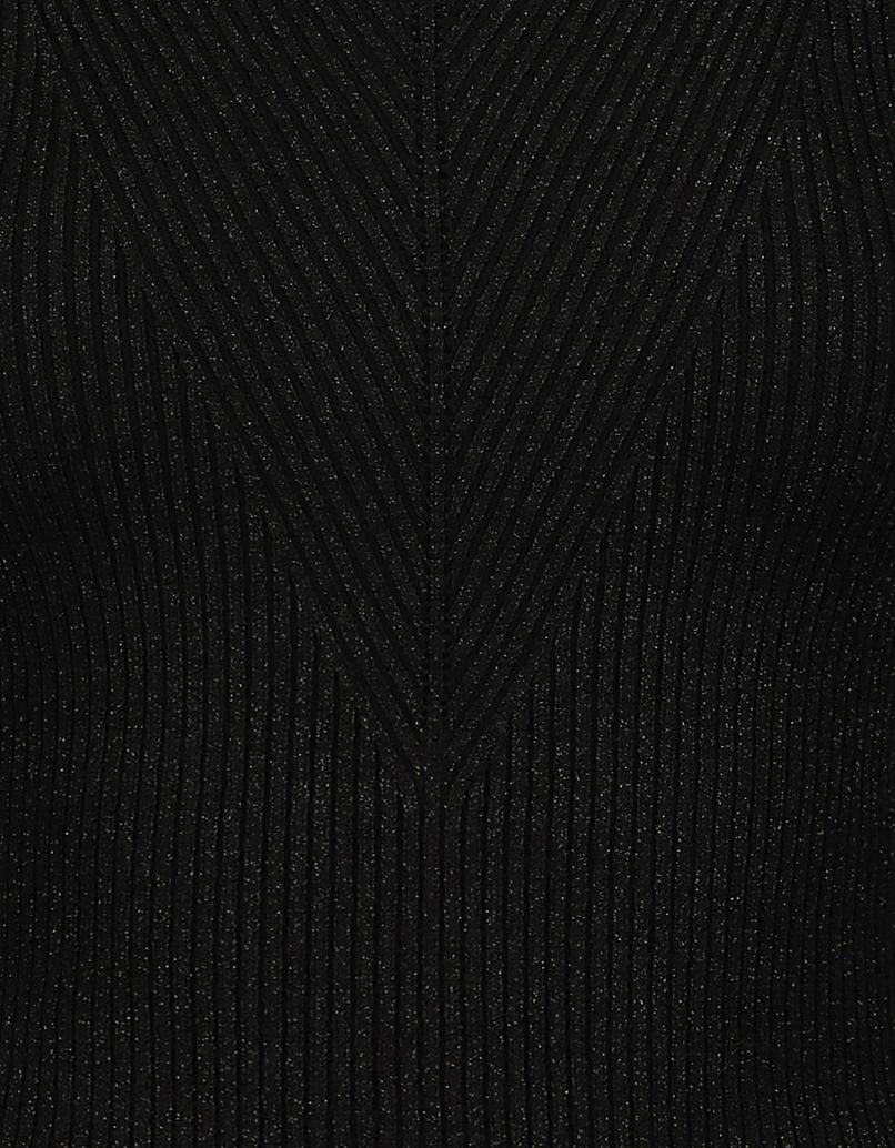 Black Lurex Jumper