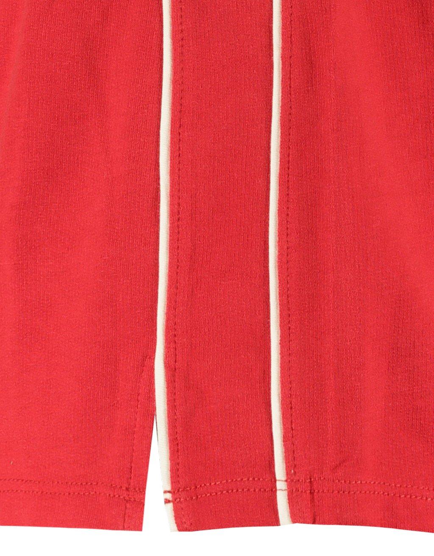 Czerwone szorty
