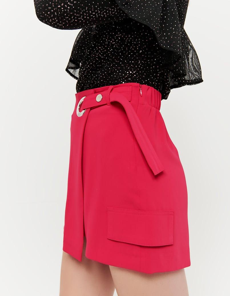 Fuksjowe spódnico-spodnie