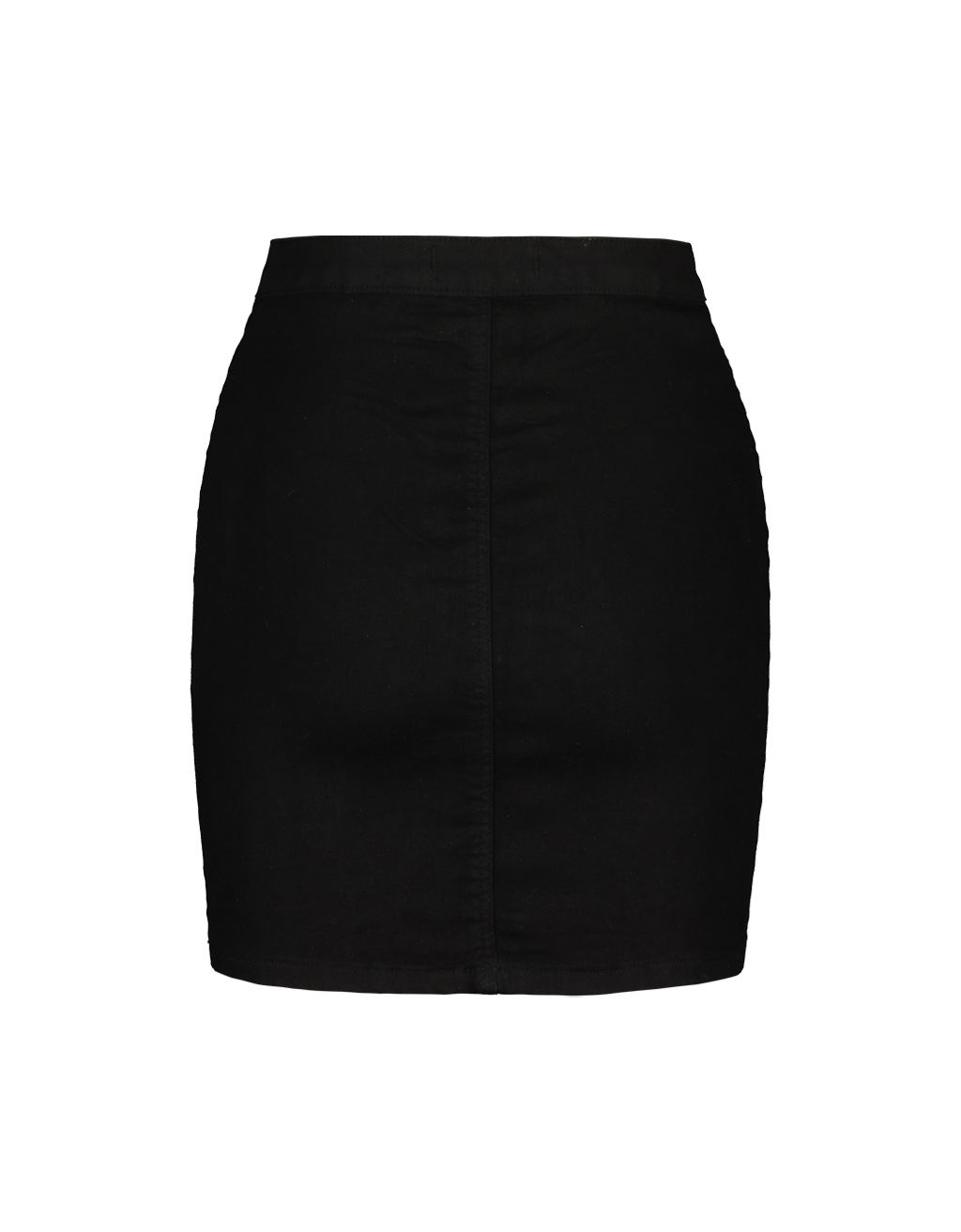 Black Stretch Mini Skirt