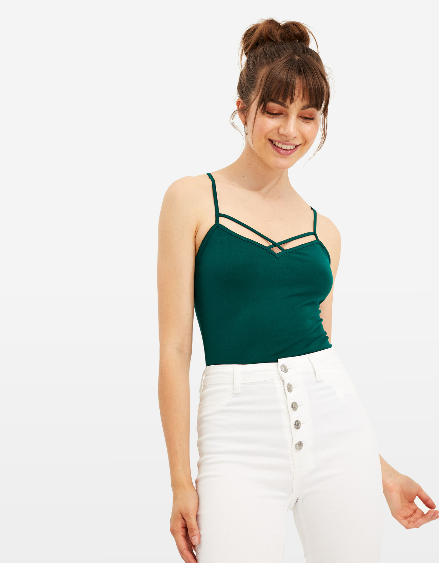 Top Basico Verde