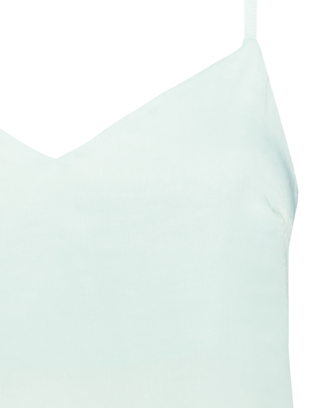 Light Blue Satin Tank Top