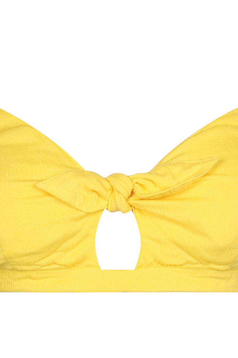 Yellow Bralet