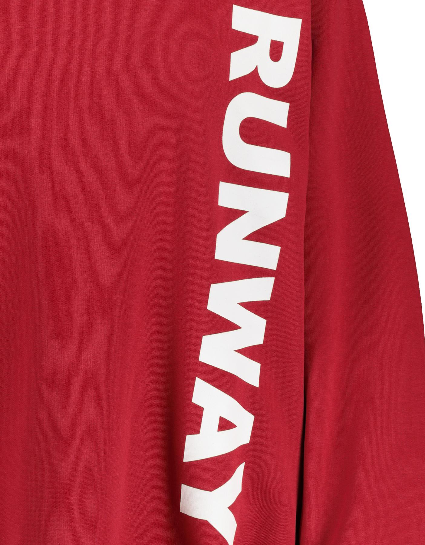Rotes Oversize Sweatshirt