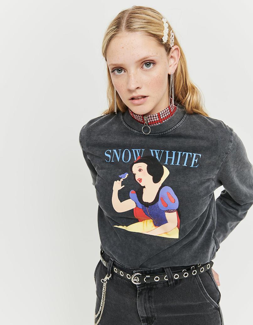 Grey Sweatshirt with Disney Meme