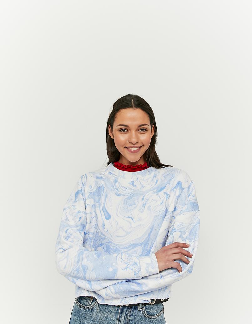 Sweat Bleu Tie & Dye