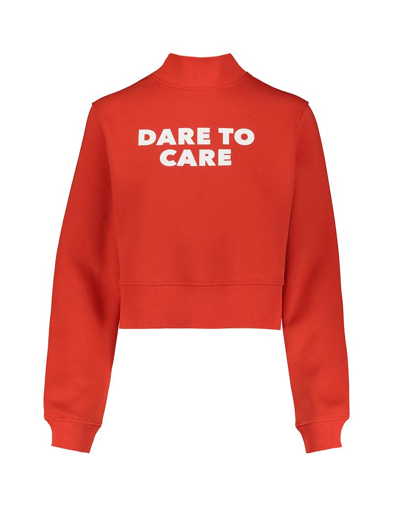 Sweat Orange à Slogan