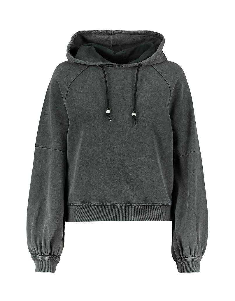 Grey Acid Wash Sweatshirt