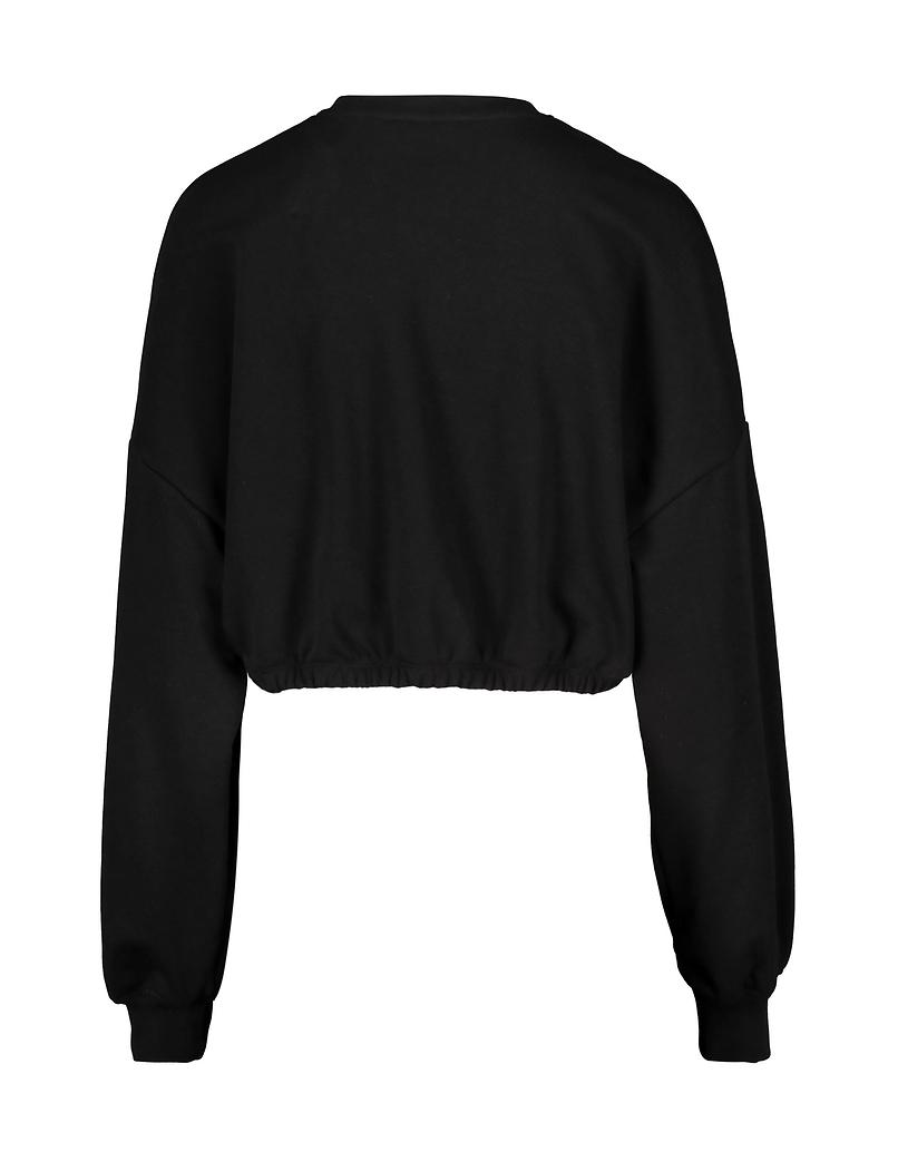 Black Sweatshirt with Buckle