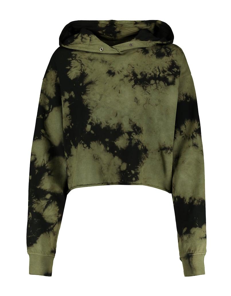 Khaki Tie & Dye Sweatshirt