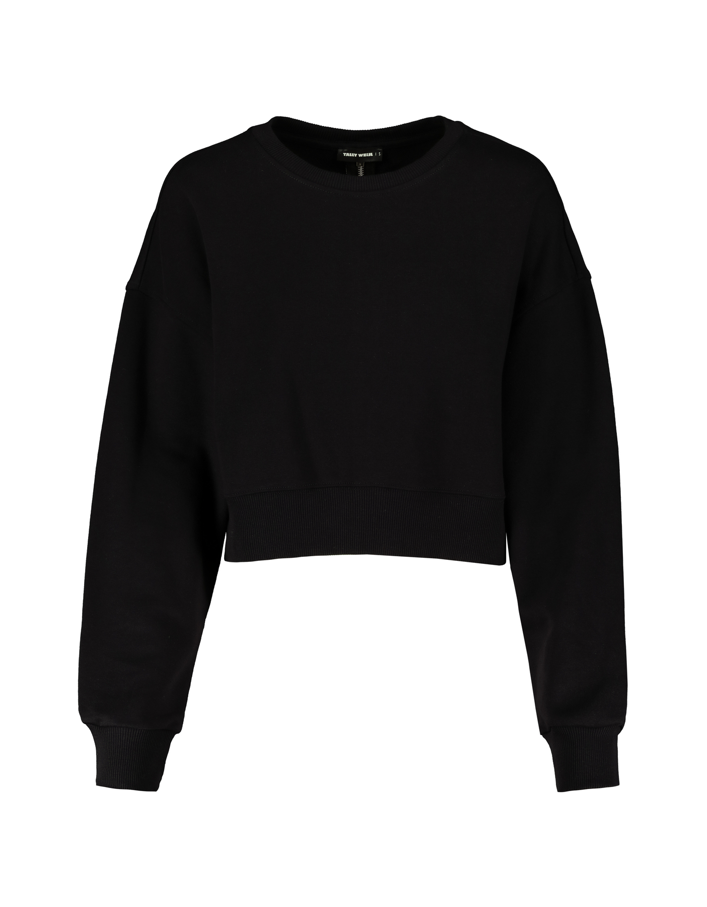 Black Sweatshirt with Zip