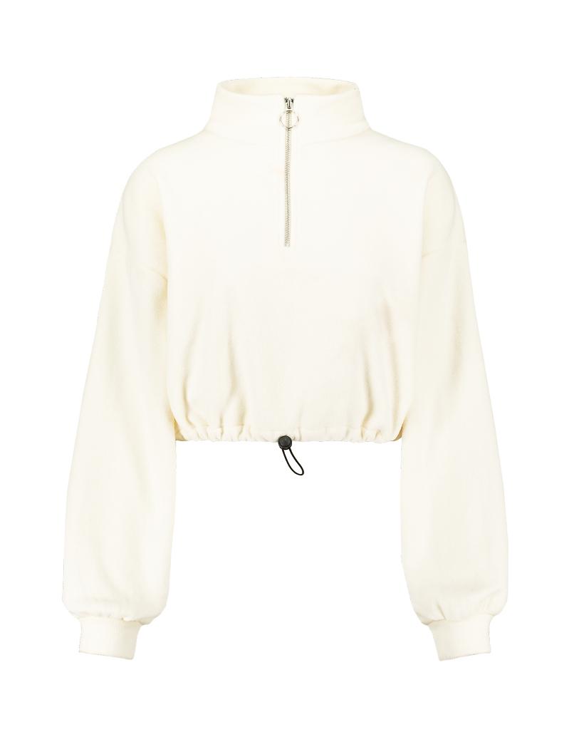 Biała bluza Cropped