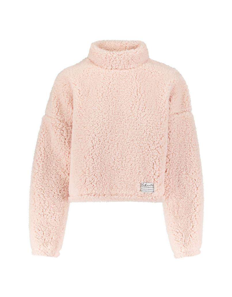 Light Pink Fluffy Sweatshirt