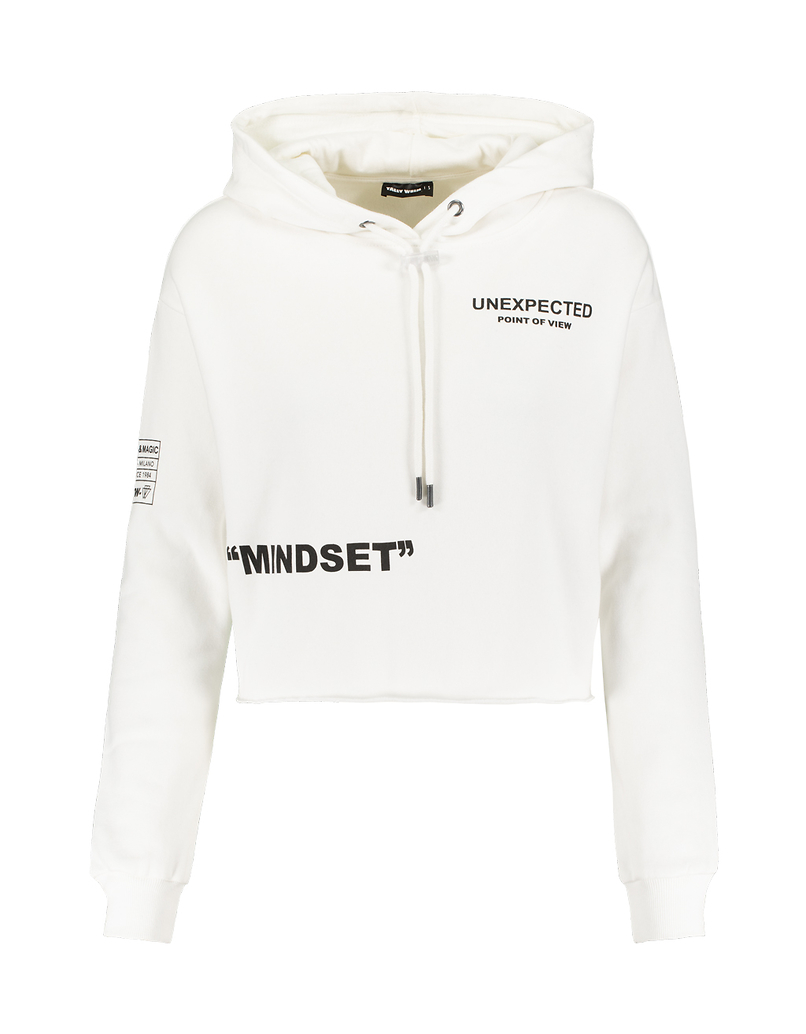 Sweat White à Slogan