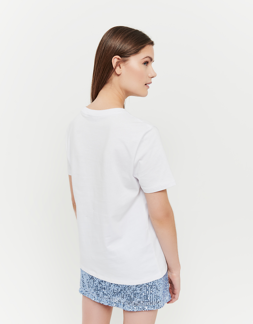 T-Shirt Bianca Stampa Venere