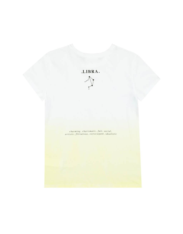 """""""Libra"""" White T-Shirt"""
