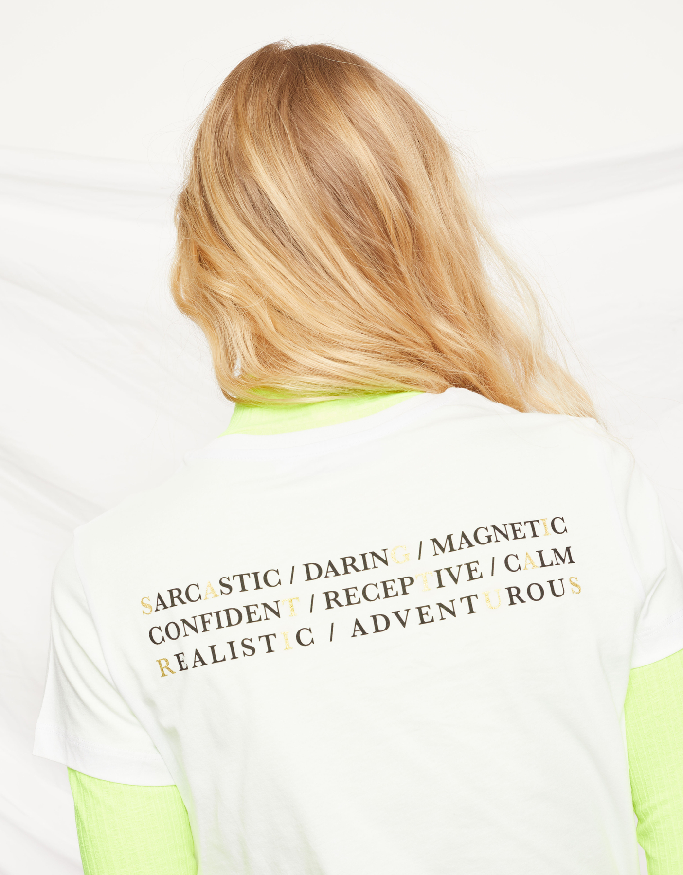 "T-Shirt Blanc ""Sagittaire"""