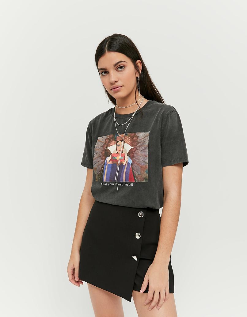 Szary t-shirt Disney