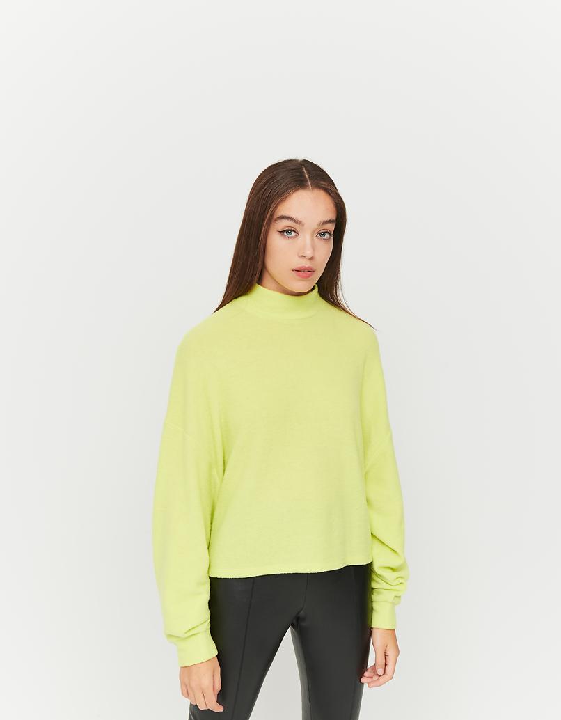 Neon Green Oversized Top