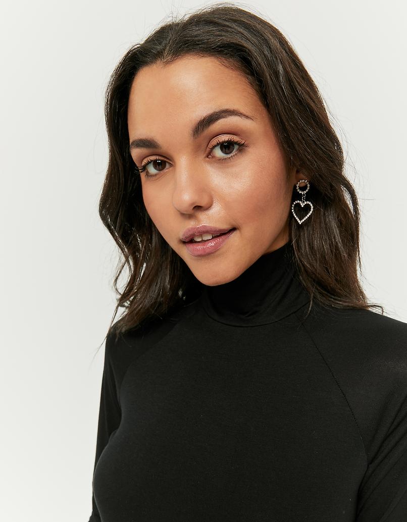 Black Long Sleeves Top