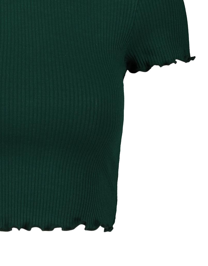 Grünes Crop Top