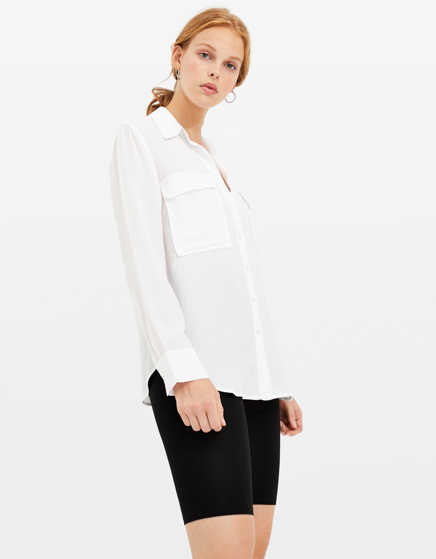 White Large Shirt