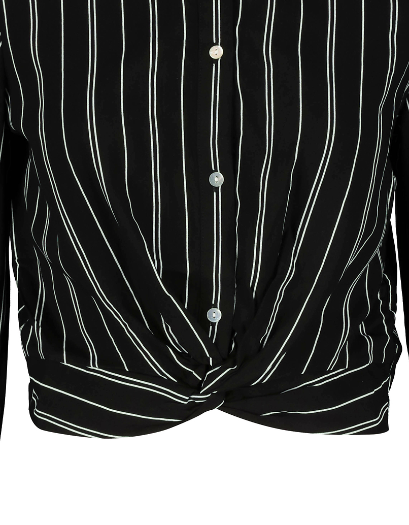 Stripe Knot Blouse