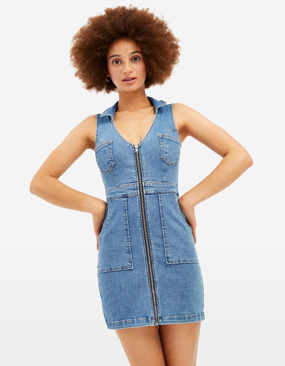 Vestito di Jeans Aderente