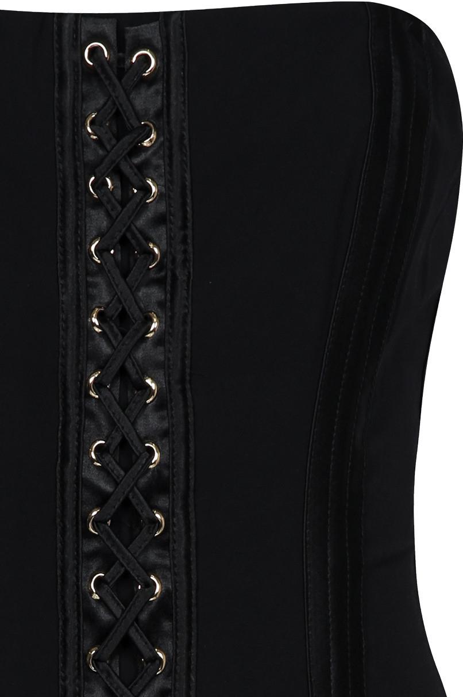 Black Corset Mini Dress