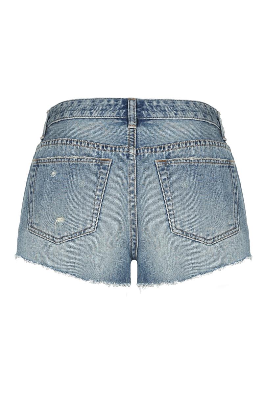 Jeans Corti Blu Chiaro