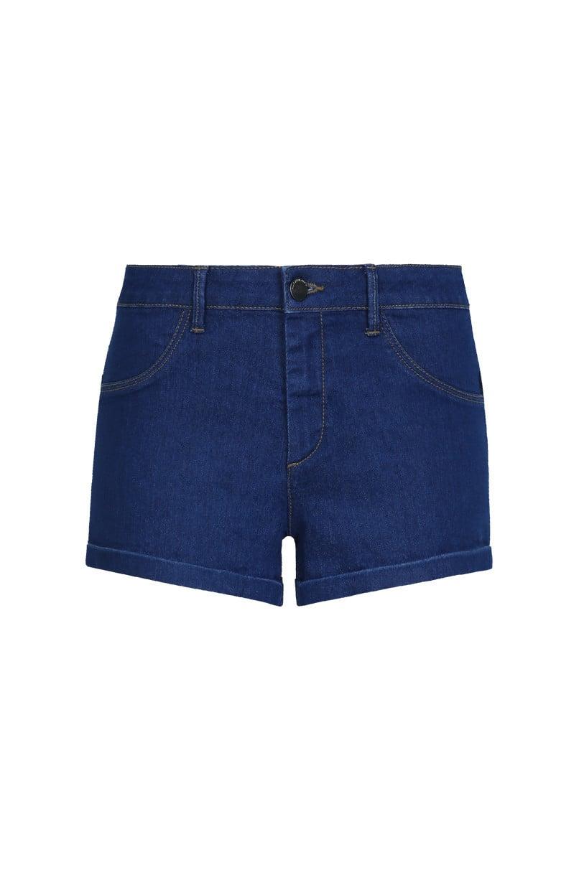 Dark Blue Jean Mini Shorts