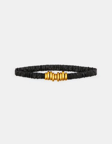 Schwarz-goldener Gürtel