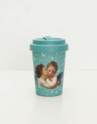 Kubek do kawy z motywem anioła