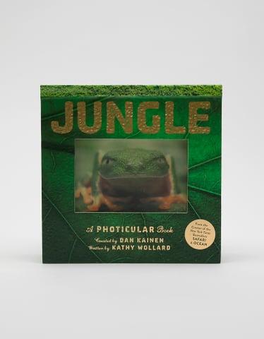 """Englisches Buch """"Jungle: A Photicular Book"""""""