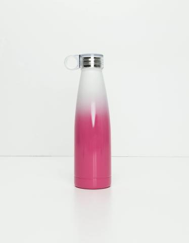 Pinke Flasche