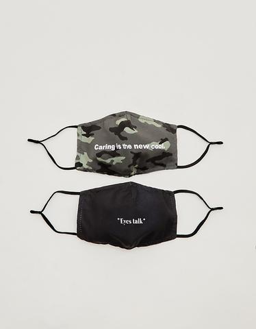 2 Pack Printed Masks