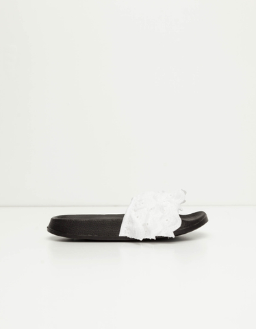 Mules Noires & Blanches