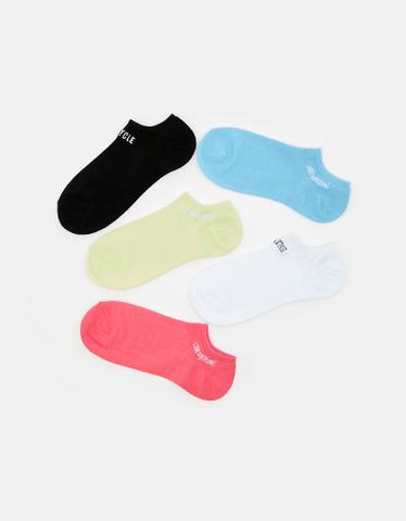 Socken mit Aufdruck im 5er Pack
