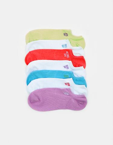 Socken mit Aufdruck im 7er Pack