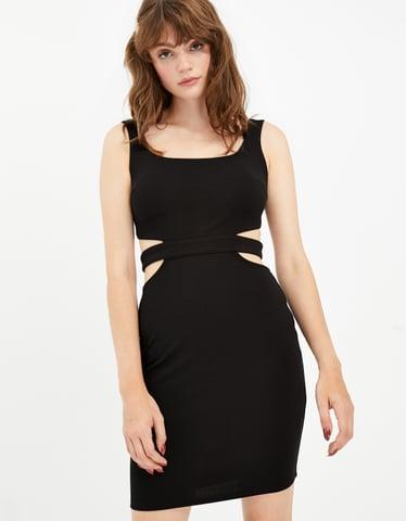 Black Criss Cross Dress