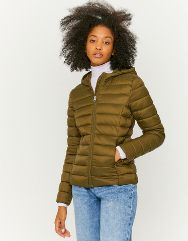 Hooded Light Puffer Jacket