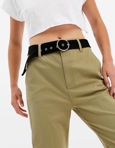Khaki spodnie Chinosy