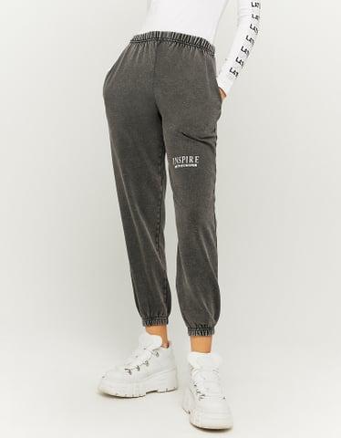 Pantaloni da Jogging  Stampati a Vita Alta